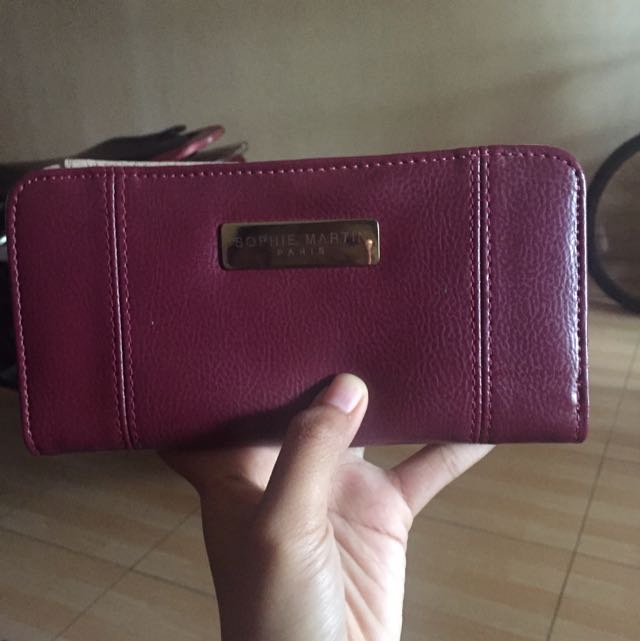 Dompet Sophie Martin Maroon