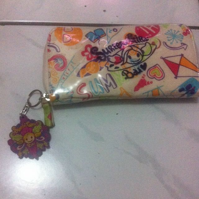 surfer girl dompet