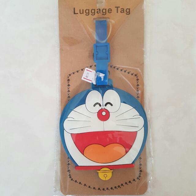 Doraemon Luggage Tag