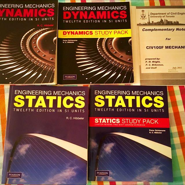 Dynamics and Statistics - Engineering Mechanics