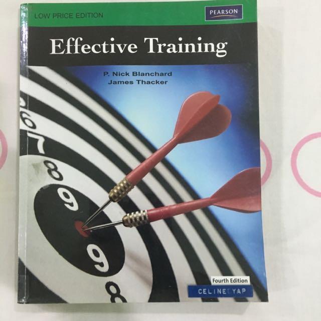 Effective Training 4th Ed