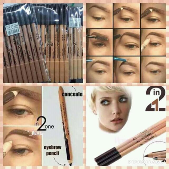 EYEBROW LINER WITH CONCEALER