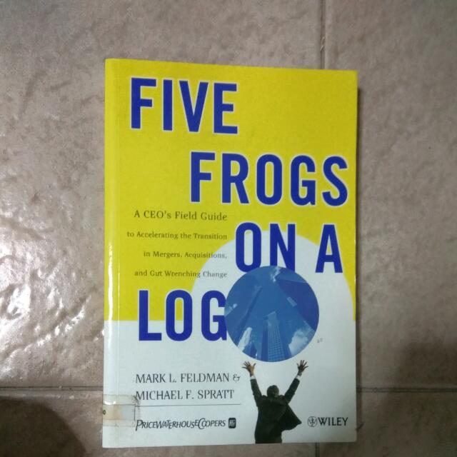 Five Frogs On A Log By Mark Feldman And Michael Spratt