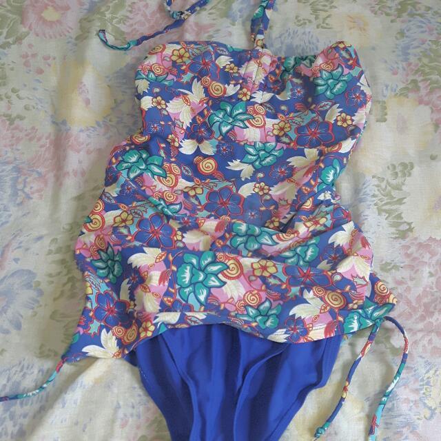 Floral Bathing Suit