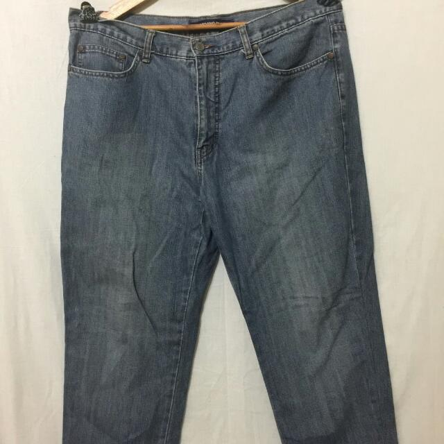 Giordano Jeans Blue Size 36 Straight Fit Original 100%