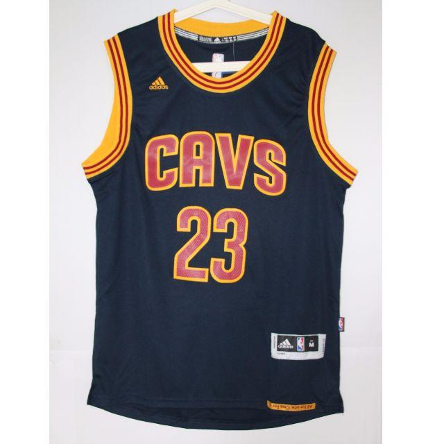 3fd393a45 NBA Swingman Jersey LeBron James Cleveland Cavalier  23 Navy Blue Away  Jersey