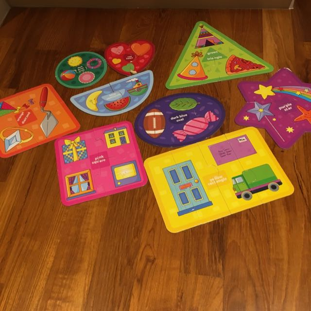 Infantino Colors And Shapes Puzzles