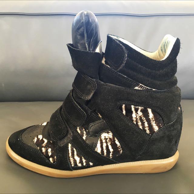 Isabel Marant - Pony Over Basket - Benett Sneaker