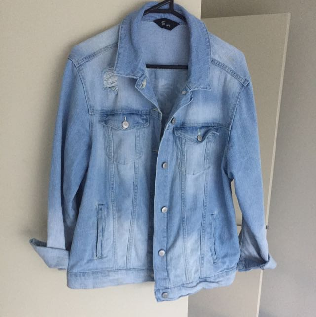 JayJays Oversized Denim Jacket