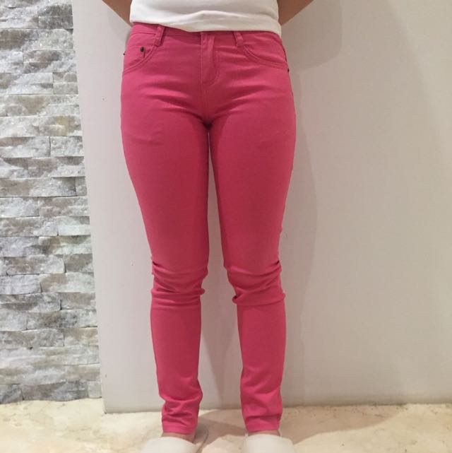 Jeans Pink Baleno New