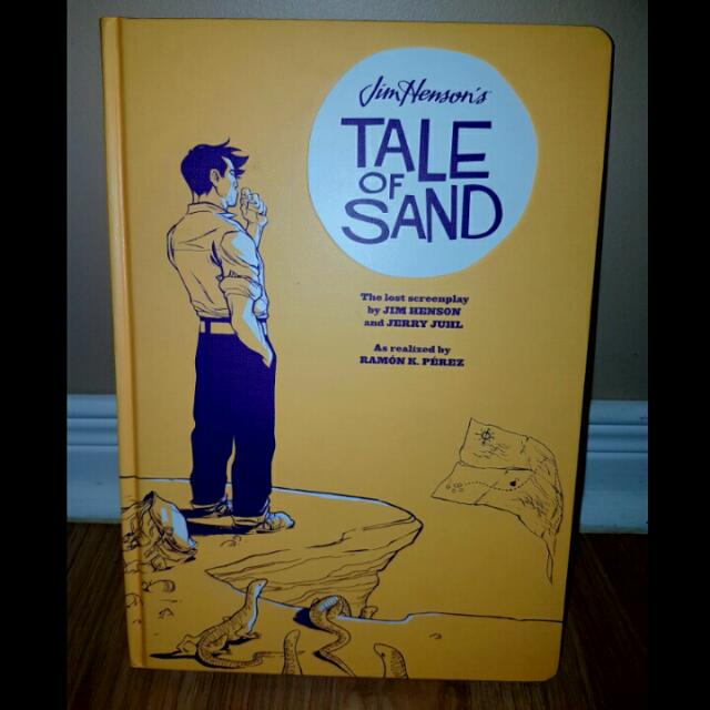 Jim Henson's Tales Of Sand Graphic Novel HC