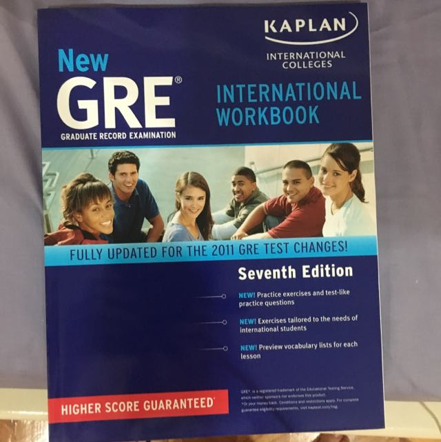 Kaplan New GRE International Workbook