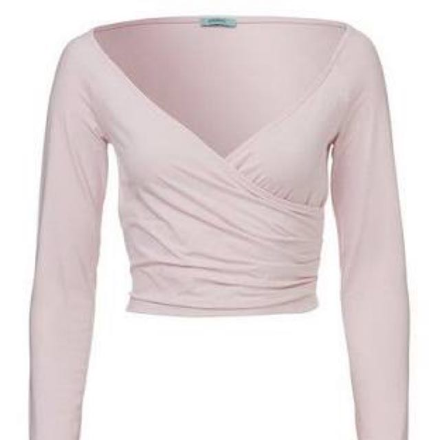 KOOKAI LONG SLEEVE WRAP/CROP