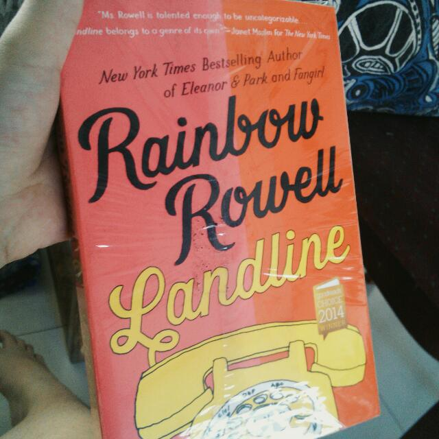 Landline by Rainbow Rowell 💓