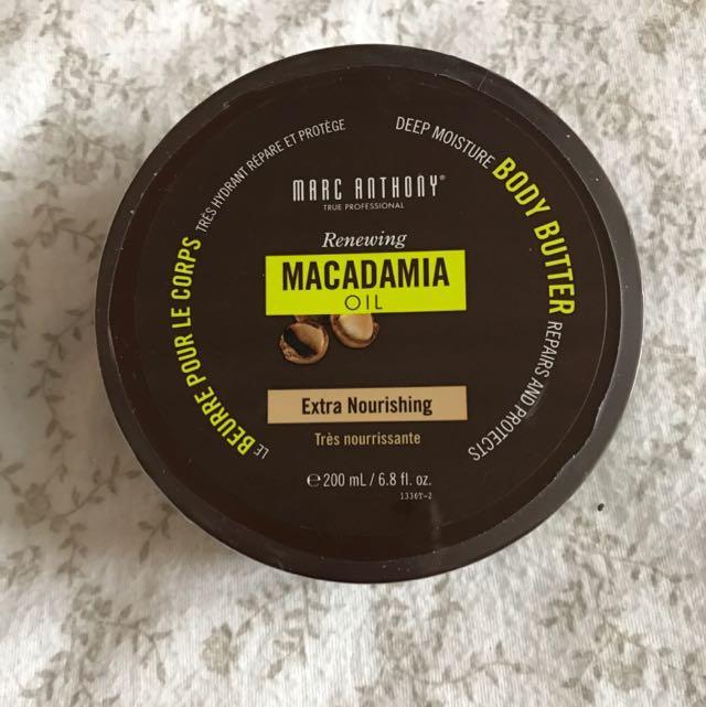 macadamia body butter