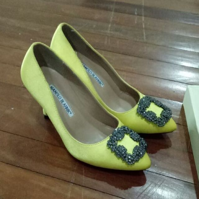 Manolo Blahnik Mirror Replika No 36 Good Condition