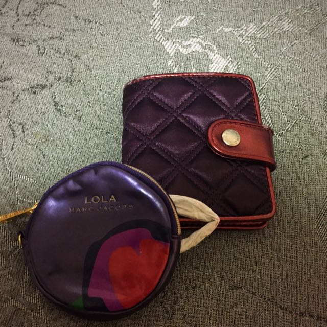 Marc Jacob Wallet And Coins Bag 銀包散紙包