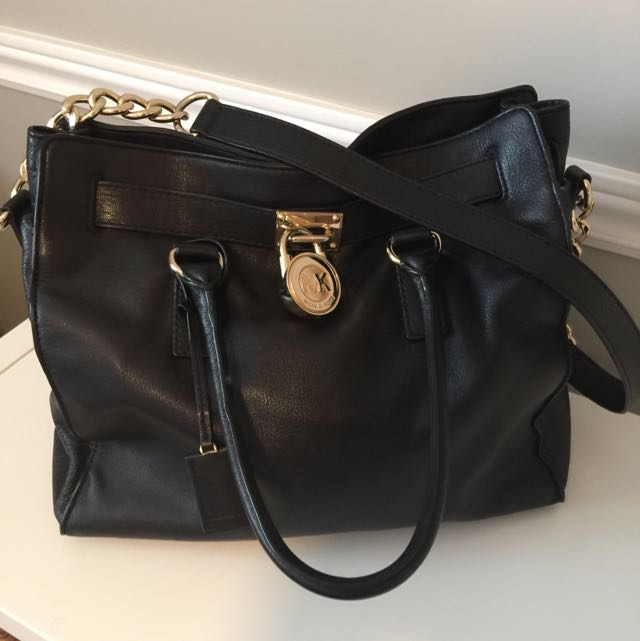 Michael Kors Hamilton - Large -Black