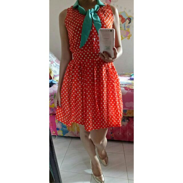 Mini Dress Polkadot