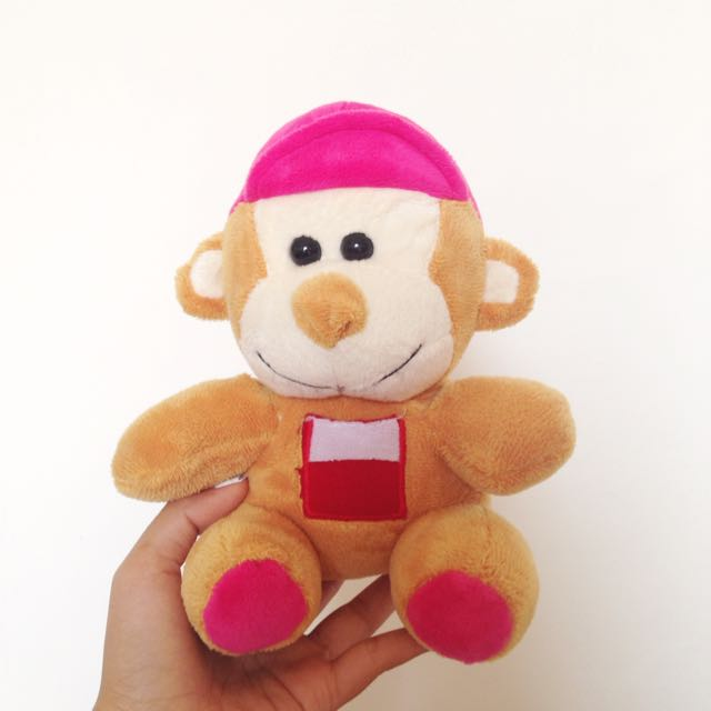 Monkey Doll / Boneka Monyet
