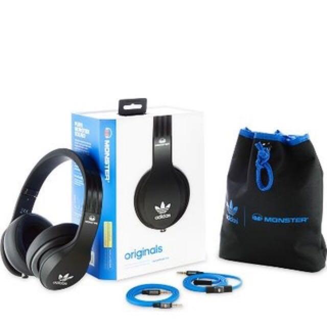 Monster Adidas Originals by Monster Over-Ear Headphones