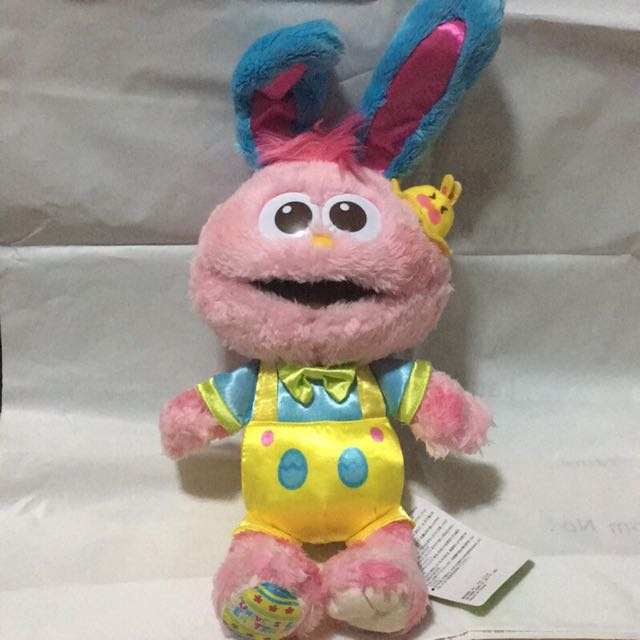環球影城復活節芝麻街粉紅Moppy娃娃
