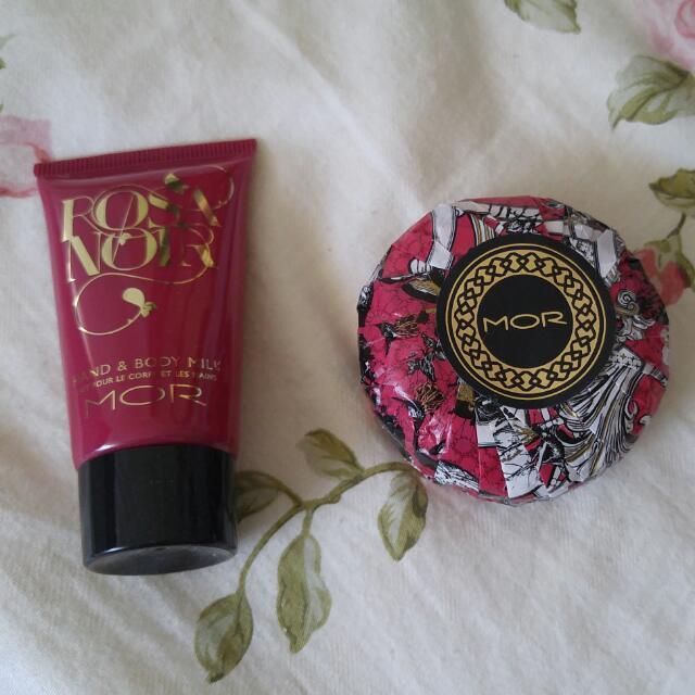 Mor Hand Cream, Mor Soap