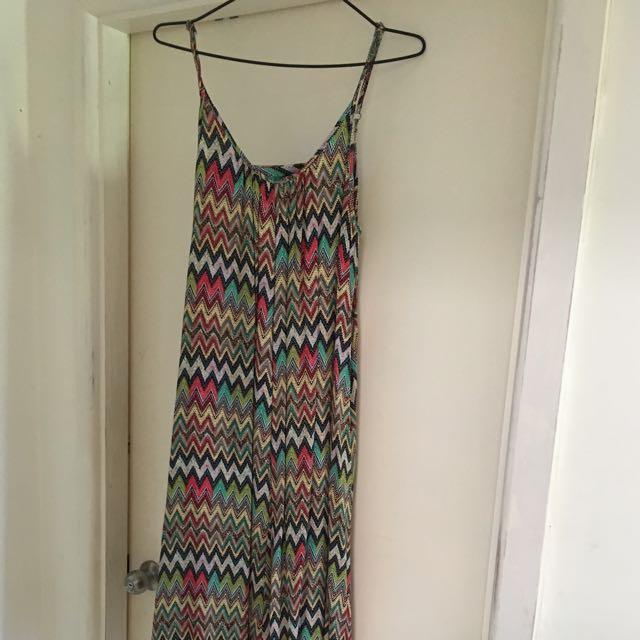 Multi Colour Maxi Dress