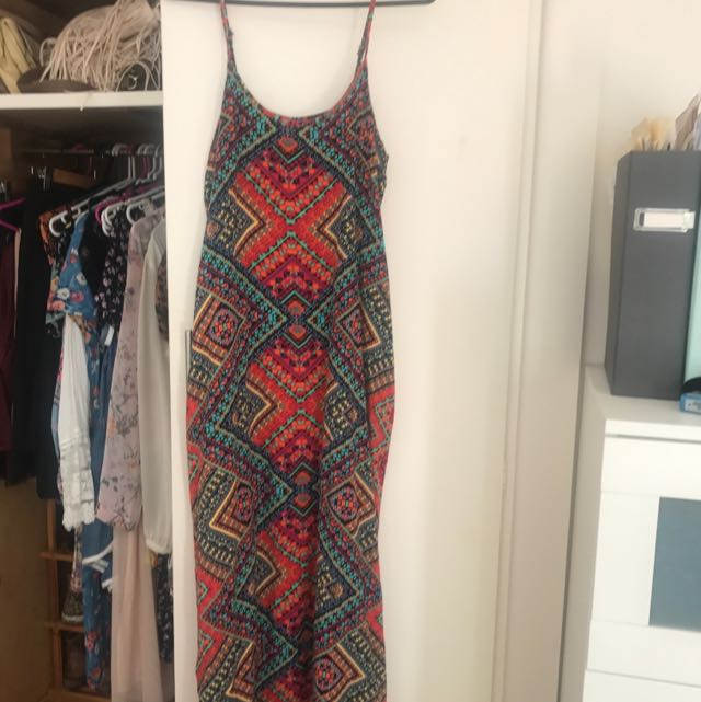 Multi Colour Maxi Dress By Sunny Girl