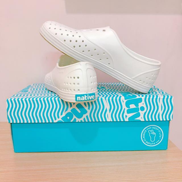 native基本款 白鞋 防水