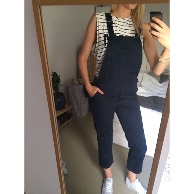 Navy Overalls Dungarees