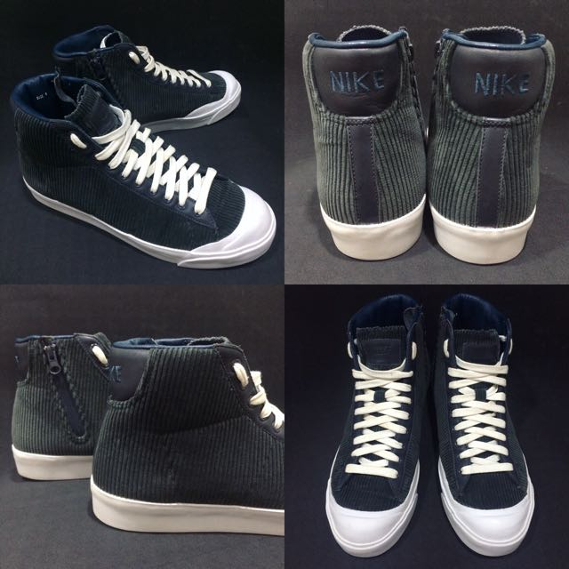 Nike Blazer mid AB MHRM TZ remix All Court 破壞者