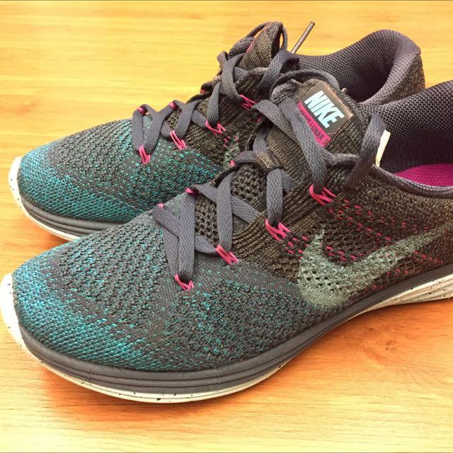 Nike Flyknit Lunar3 女款跑步鞋
