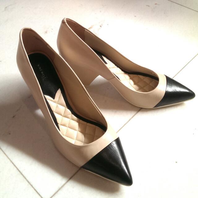 NINE WEST 正品 8.5號 氣質厚底高跟鞋