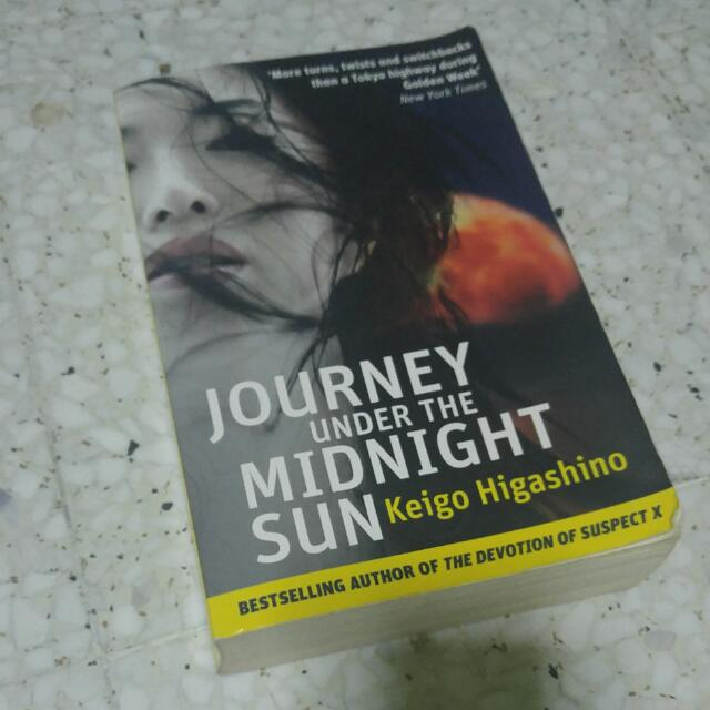 Novel Journey Under The Midnight Sun By Keigo Higashino Books