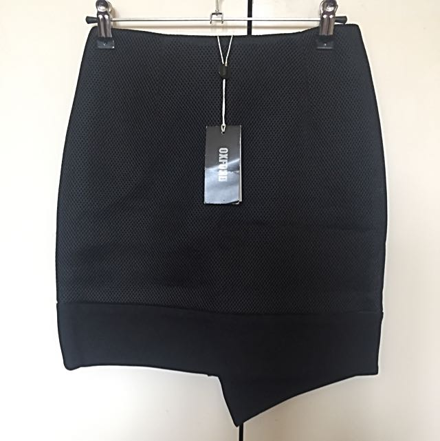 Oxford Bonded Mesh Skirt - tags attached