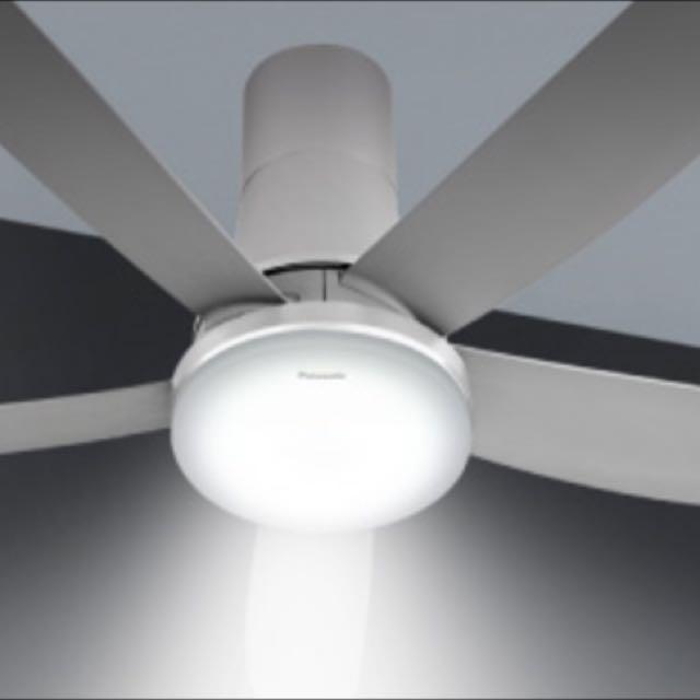 Panasonic led 5 blades ceiling fan f m15gw 60 for sale furniture photo photo aloadofball Gallery