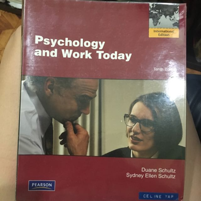 Psychology And Work Today 10th Ed