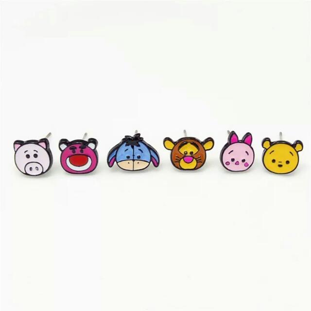 Cute Cartoon Characters Ear Studs