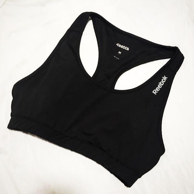 reebok padded sports bra