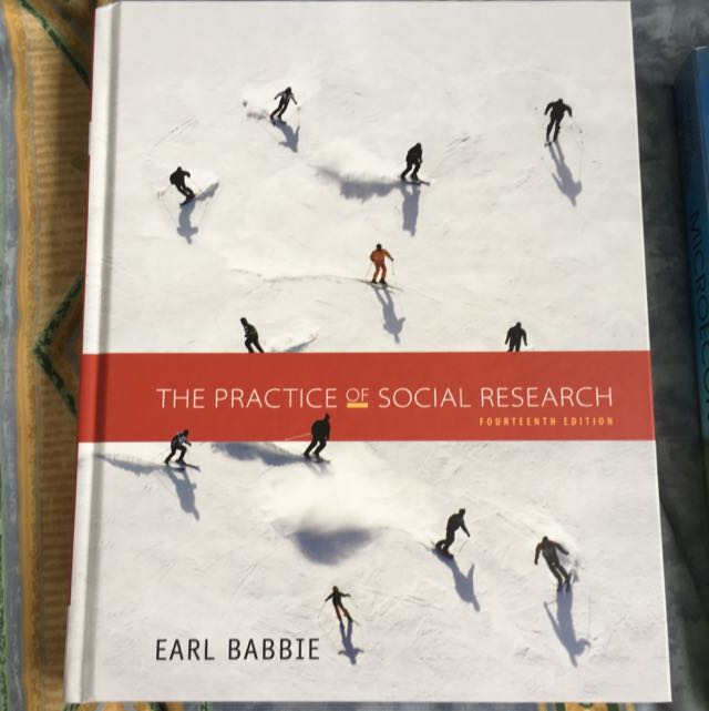 SC2101 The Practice Of Social Research 14th Edition By