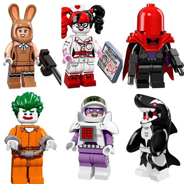 SEALED Batman Lego Movie Minifigs
