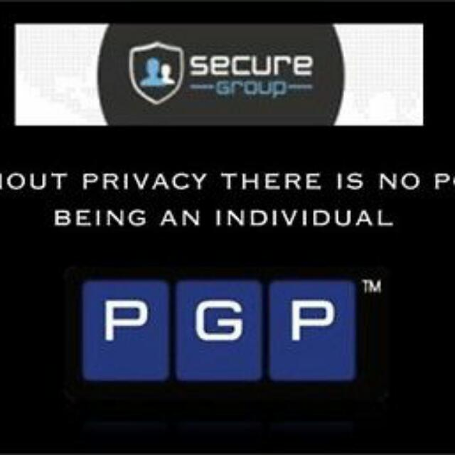 SECURE COMMUNICATION SERVICES - PGP MILITARY ENCRYPTION
