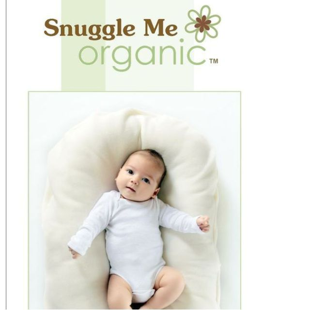 Snuggle Me Organic | The Original Co-Sleeping Baby Bed, Infant Lounger, Portable Crib, and Bassinet