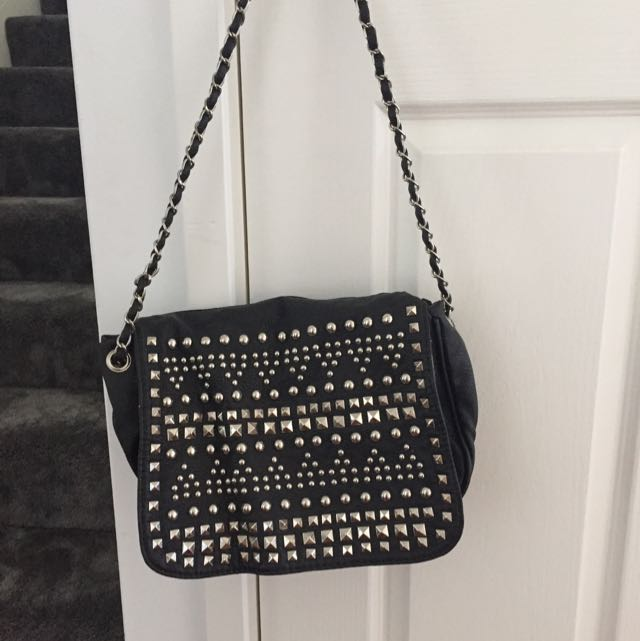 Studded Crossover Bag