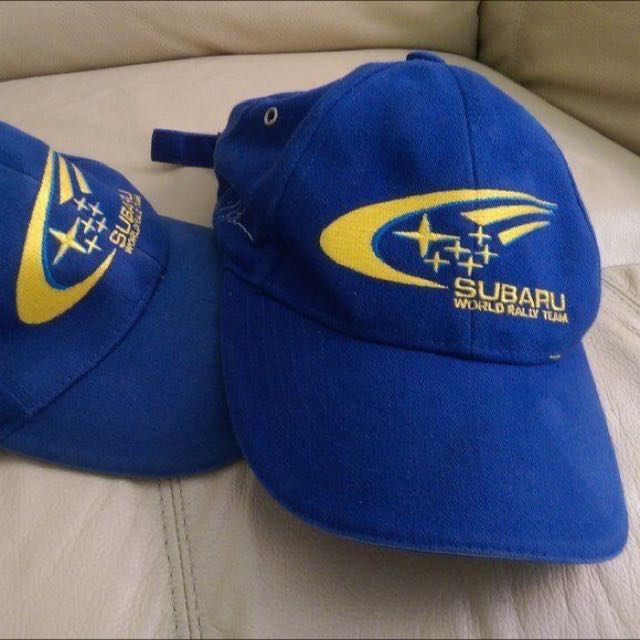 SUBARU WORLD RALLY TEAM BASEBALL CAP 297759eda26