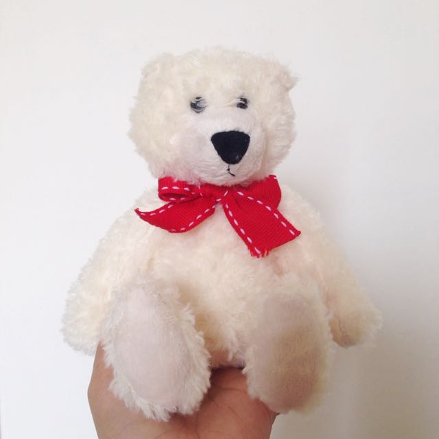 Teddy Bear Putih / White Teddy Bear
