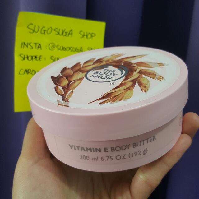 THE BODY SHOP Body Butter Vitamin E 200ml