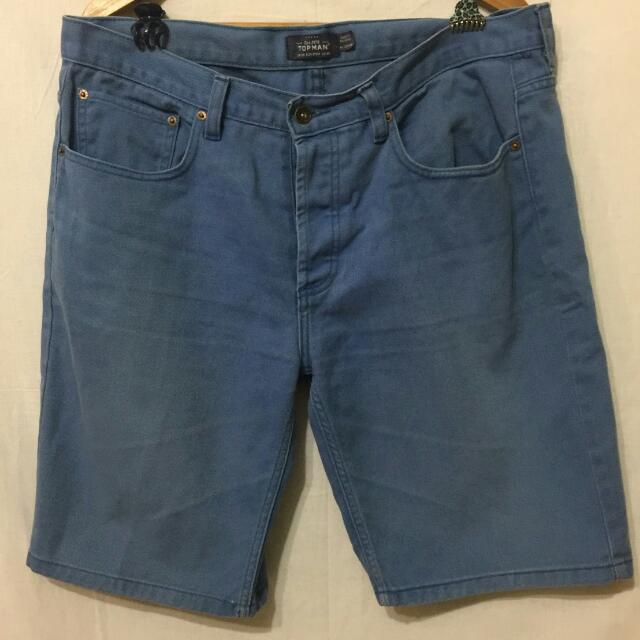 Topman Blue Size 36 Original 100%