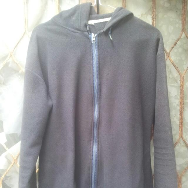 unisex hoodie black